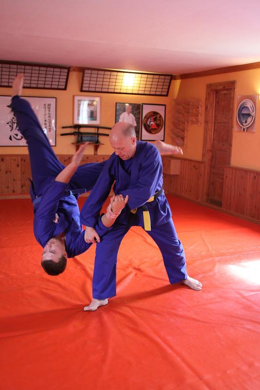 Aiki Jutjitsu of Spirit Combat Martial Arts